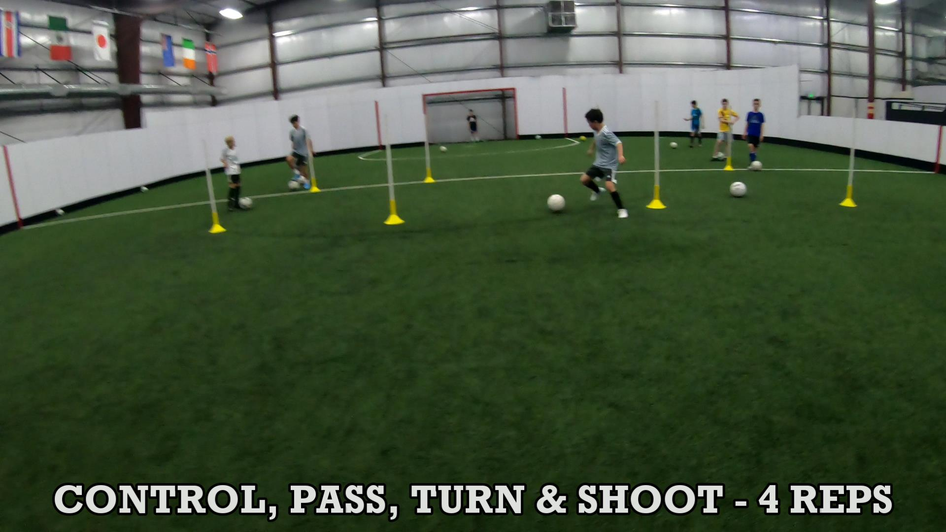 Soccer Training Drills to Improve Ball Control 7