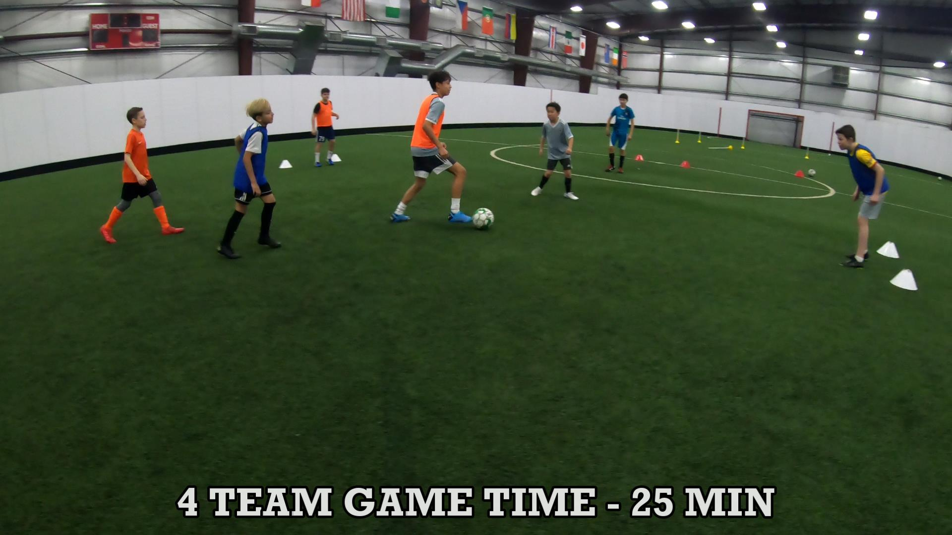 Soccer Training Drills to Improve Ball Control 9