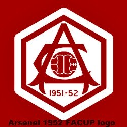 1952 arsenal logo,1952 arsenal badge, 1952 arsenal crest,1952 arsenal team logo