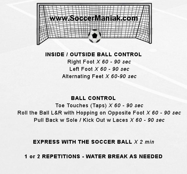 soccer drill, individual soccer training, soccer training for kids, soccer dribbling drills