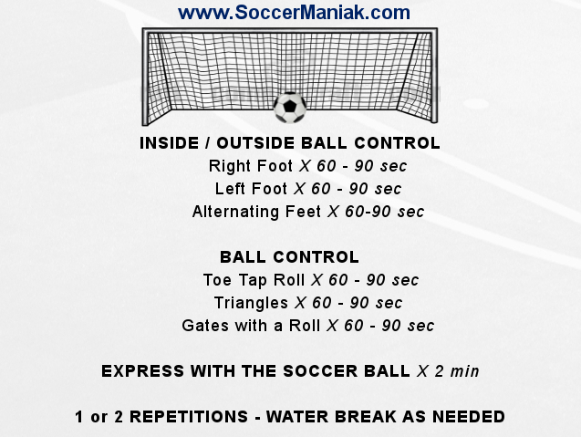 Ball Control Soccer Drills for Kids