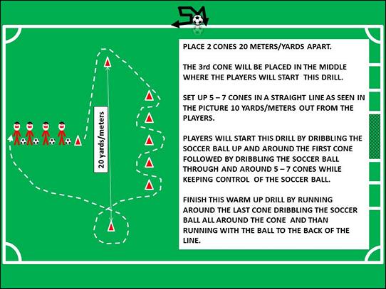 Soccer Warm Up Drills U12
