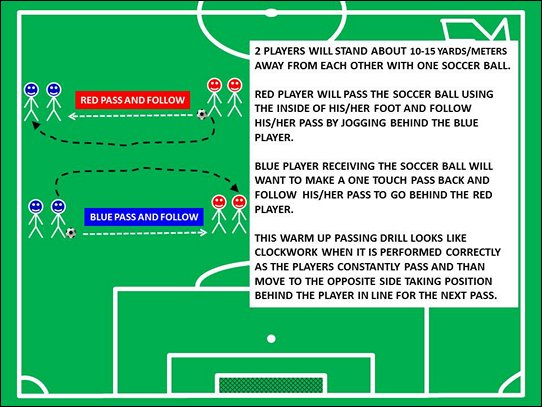 Fun Soccer Warm Up Drills